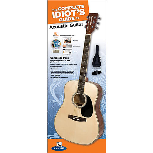 Alfred The Complete Idiot's Guide to Learning Guitar Acoustic Guitar Complete Pack