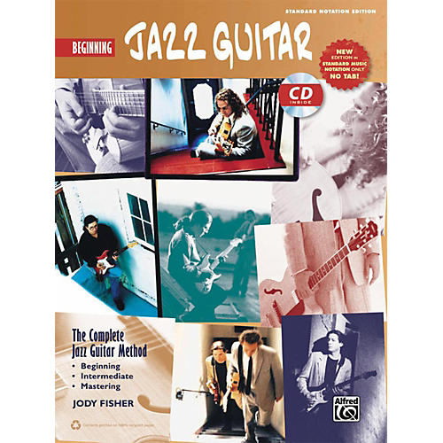 Alfred The Complete Jazz Guitar Method: Beginning Jazz Guitar Book & CD (Standard Notation Only)-thumbnail