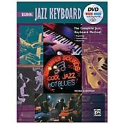 Alfred The Complete Jazz Keyboard Method - Beginning Jazz Keyboard Book DVD & Online Audio & Video