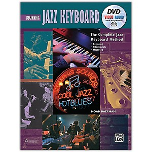 Alfred The Complete Jazz Keyboard Method - Beginning Jazz Keyboard Book DVD...
