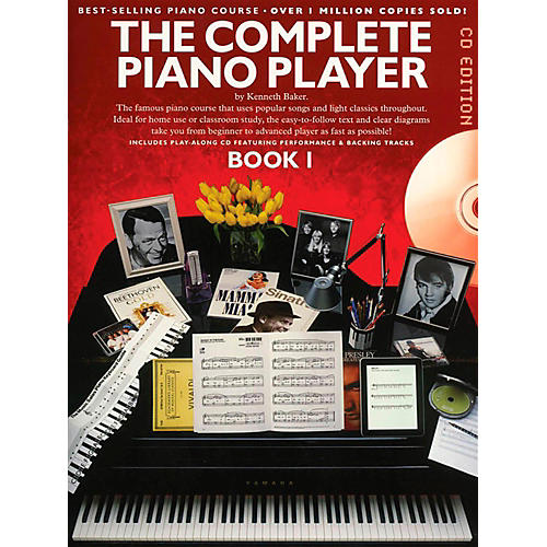 Music Sales The Complete Piano Player - Book 1 Book/CD-thumbnail