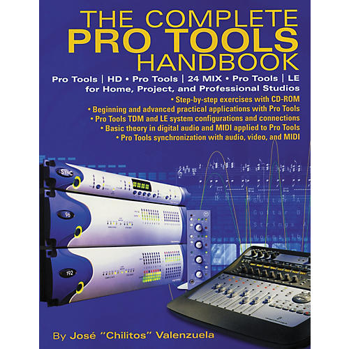 Hal Leonard The Complete Pro Tools Handbook (with CD-ROM)
