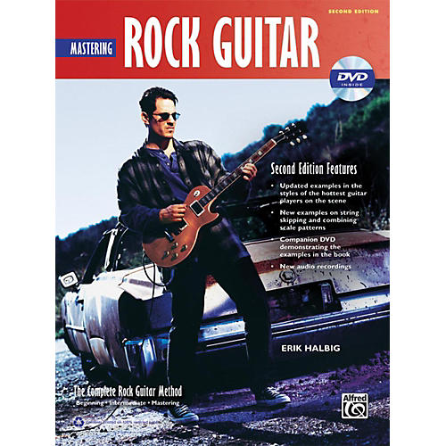 Alfred The Complete Rock Guitar Method: Mastering Rock Guitar Book & DVD-ROM(2nd Edition)-thumbnail
