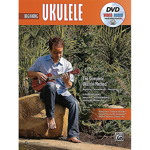 Alfred The Complete Ukulele Method: Beginning Ukulele - Book, DVD & Online Audio & Video-thumbnail