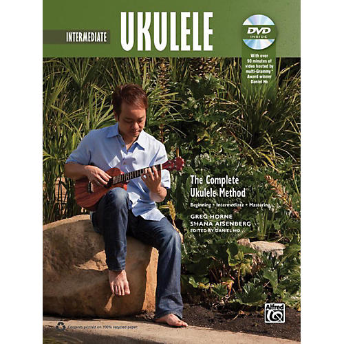 Alfred The Complete Ukulele Method: Intermediate Ukulele Book & DVD