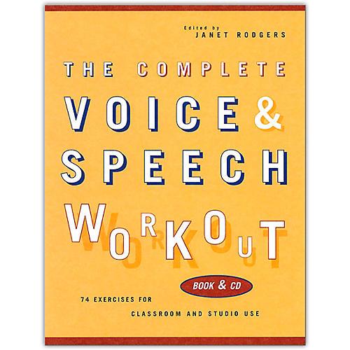Hal Leonard The Complete Voice & Speech Workout (Book/Online Audio)-thumbnail