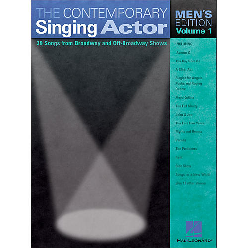Hal Leonard The Contemporary Singing Actor - Men's Edition Volume 1-thumbnail