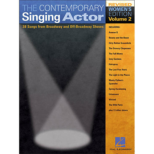 Hal Leonard The Contemporary Singing Actor - Women's Edition Volume 2