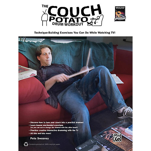 Alfred The Couch Potato Drum Workout Book-thumbnail