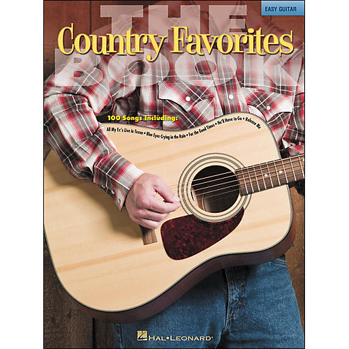 Hal Leonard The Country Favorites Book - Easy Guitar (No Tab)-thumbnail