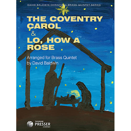 Theodore Presser The Coventry Carol & Lo, How a Rose (Book + Sheet Music)