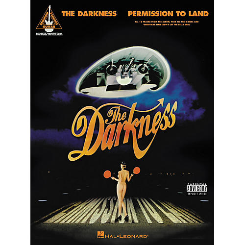 Hal Leonard The Darkness - Permission to Land Guitar Tab Book
