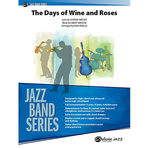 Alfred The Days of Wine and Roses Jazz Band Grade 3 Set-thumbnail