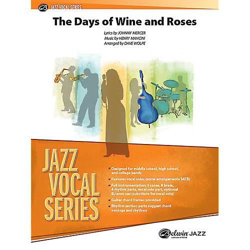Alfred The Days of Wine and Roses Jazz Band Grade 3.5 Set-thumbnail
