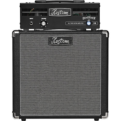 Kustom The Defender Series Head and 1x12 Half Stack