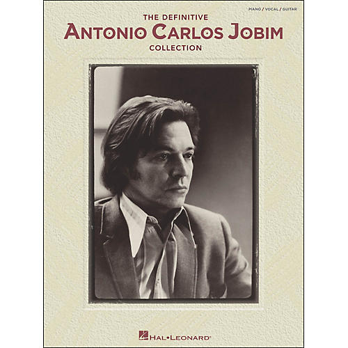 Hal Leonard The Definitive Antonio Carlos Jobim Collection arranged for piano, vocal, and guitar (P/V/G)-thumbnail