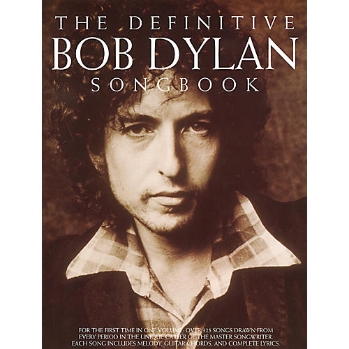 Music Sales The Definitive Bob Dylan Piano, Vocal, Guitar Songbook