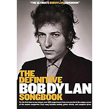 Music Sales The Definitive Bob Dylan Songbook (Small Format) Music Sales America Series Softcover by Bob Dylan