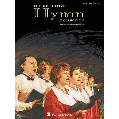 Hal Leonard The Definitive Hymn Collection Piano, Vocal, Guitar Songbook