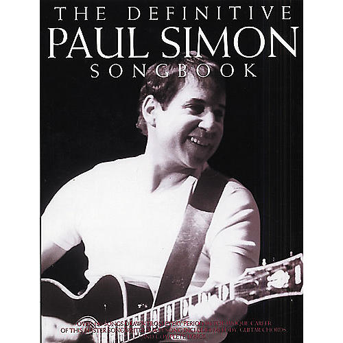 Music Sales The Definitive Paul Simon Piano, Vocal, Guitar Songbook-thumbnail