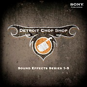 Sony The Detroit Chop Shop Series 1-5