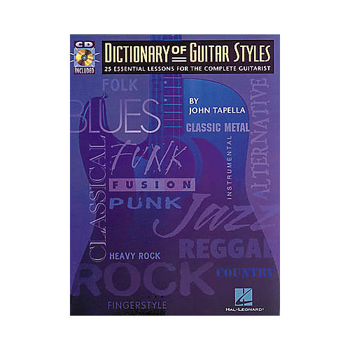 Hal Leonard The Dictionary of Guitar Styles (Book/CD)