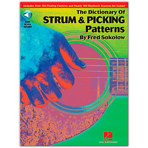 Hal Leonard The Dictionary of Strum and Picking Patterns (Book/Online Audio)-thumbnail