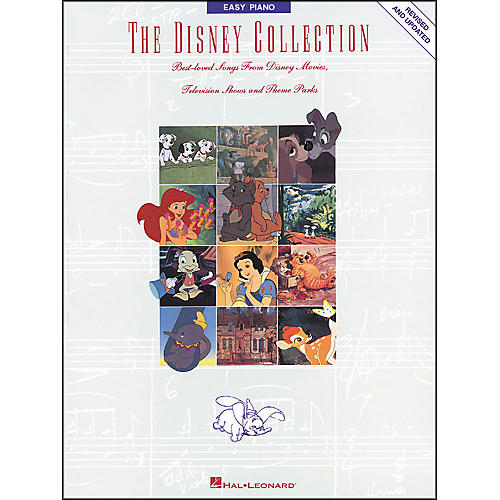 Hal Leonard The Disney Collection Revised And Updated for Easy Piano
