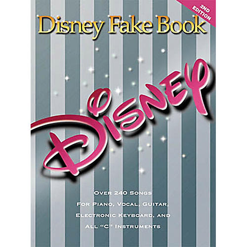 Hal Leonard The Disney Fake Book for Piano, Guitar, and Vocals