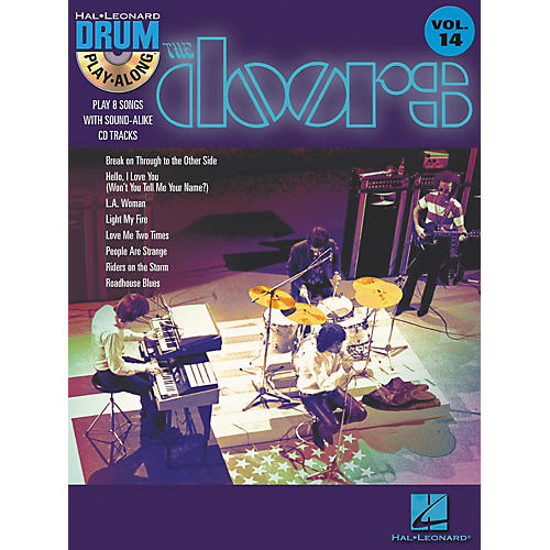 Hal Leonard The Doors - Drum Play-Along Volume 14 Book/CD Set-thumbnail