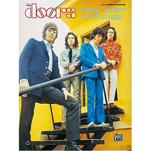 Alfred The Doors - Easy Guitar Anthology Book-thumbnail