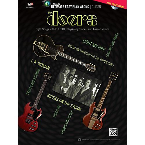Alfred The Doors - Ultimate Easy Guitar Play-Along Easy Guitar TAB Book & DVD