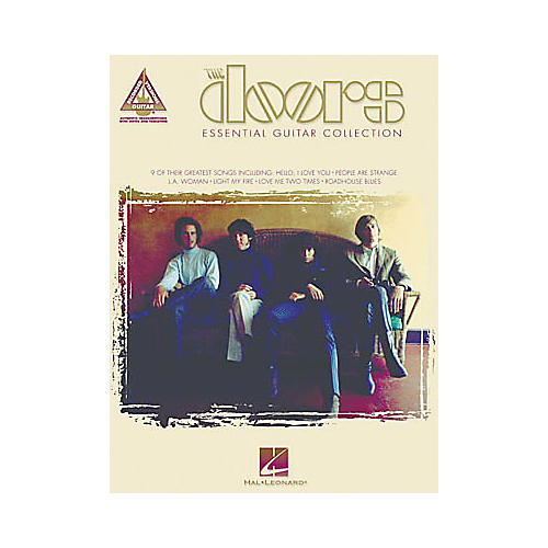 Hal Leonard The Doors Essential Guitar Tab Book Collection-thumbnail