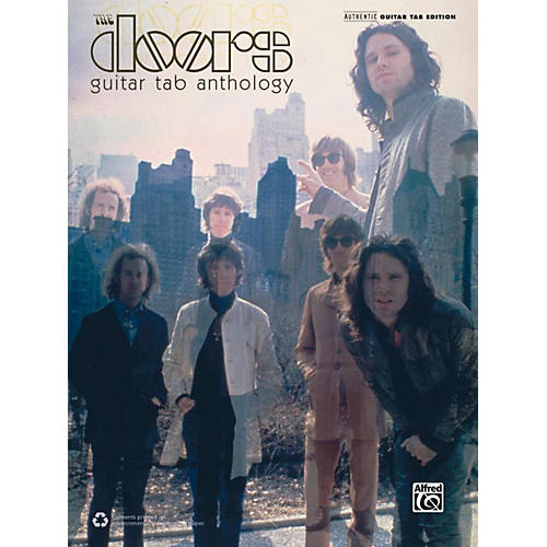 Alfred The Doors Guitar TAB Anthology Book-thumbnail
