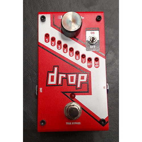 Digitech The Drop Polyphonic Drop Tune Pitch-Shifter Effect Pedal