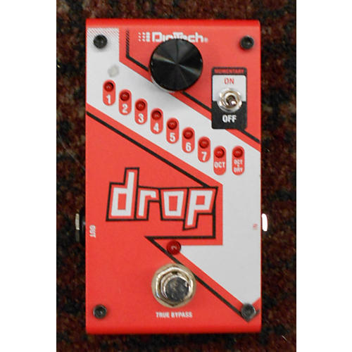 Digitech The Drop Polyphonic Drop Tune Pitch-Shifter Effect Pedal-thumbnail