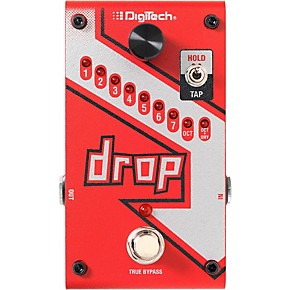 digitech the drop polyphonic drop tune pitch shifter guitar effects pedal guitar center. Black Bedroom Furniture Sets. Home Design Ideas