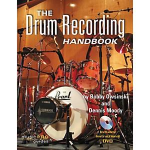 Hal Leonard The Drum Recording Handbook - Music Pro Guides Book/DVD