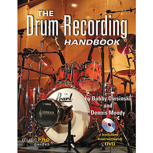 Hal Leonard The Drum Recording Handbook - Music Pro Guides (Book/DVD)-thumbnail