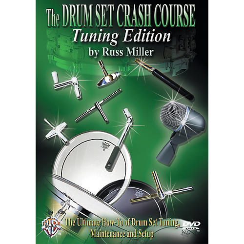 Alfred The Drum Set Crash Course, Tuning Edition by Russ Miller DVD-thumbnail