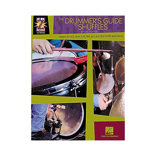 Hal Leonard The Drummer's Guide to Shuffles Book/CD-thumbnail