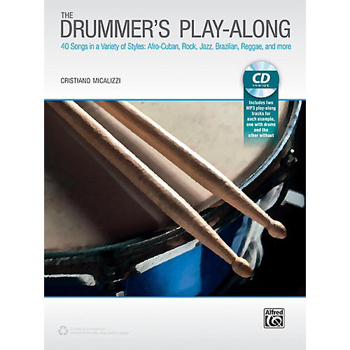 Alfred The Drummer's Play-Along - Book & CD-thumbnail