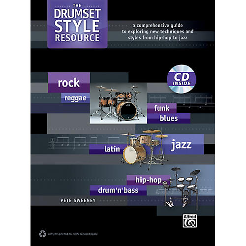 Alfred The Drumset Style Resource Book & CD