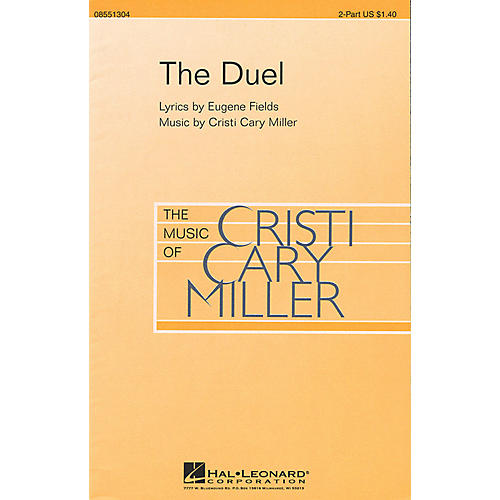 Hal Leonard The Duel 2-Part composed by Cristi Cary Miller