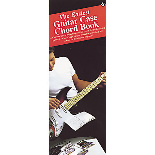 Music Sales The Easiest Guitar Case Chord (Book)-thumbnail