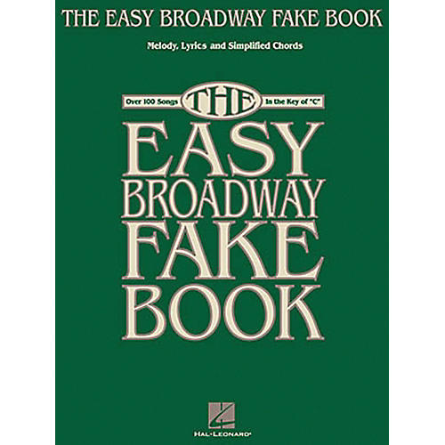 Hal Leonard The Easy Broadway Fake Book-thumbnail