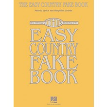 Hal Leonard The Easy Country Fake Book - Melody, Lyrics and Simplified Chords for 100 Songs