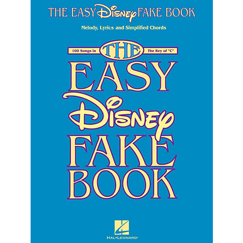 Hal Leonard The Easy Disney Fake Book - 100 Songs In The Key Of C-thumbnail
