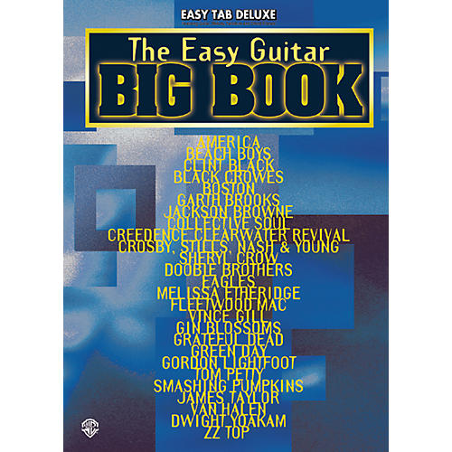 Alfred The Easy Guitar Big Tab Book-thumbnail