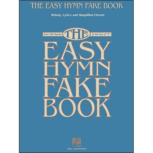 Hal Leonard The Easy Hymn Fake Book